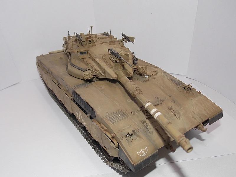 Merkava Mk.1 Hybrid. ТАКОМ, 1\35. Dscn5099