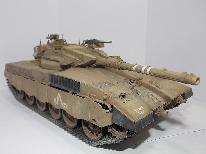 Merkava Mk.1 Hybrid. ТАКОМ, 1\35. Dscn5100