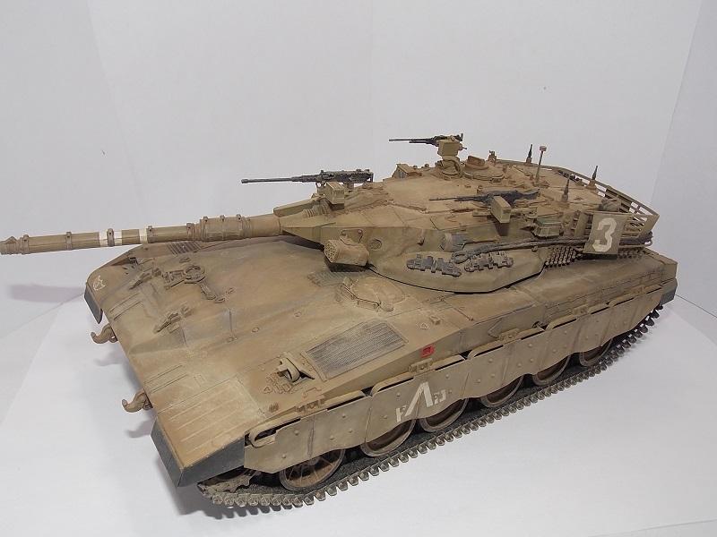 Merkava Mk.1 Hybrid. ТАКОМ, 1\35. Dscn5101