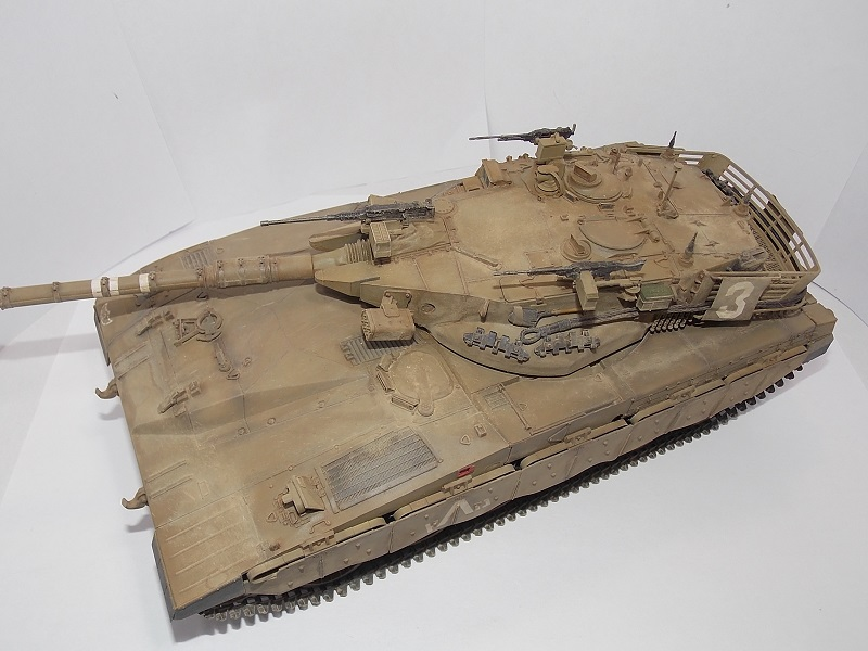 Merkava Mk.1 Hybrid. ТАКОМ, 1\35. Dscn5102