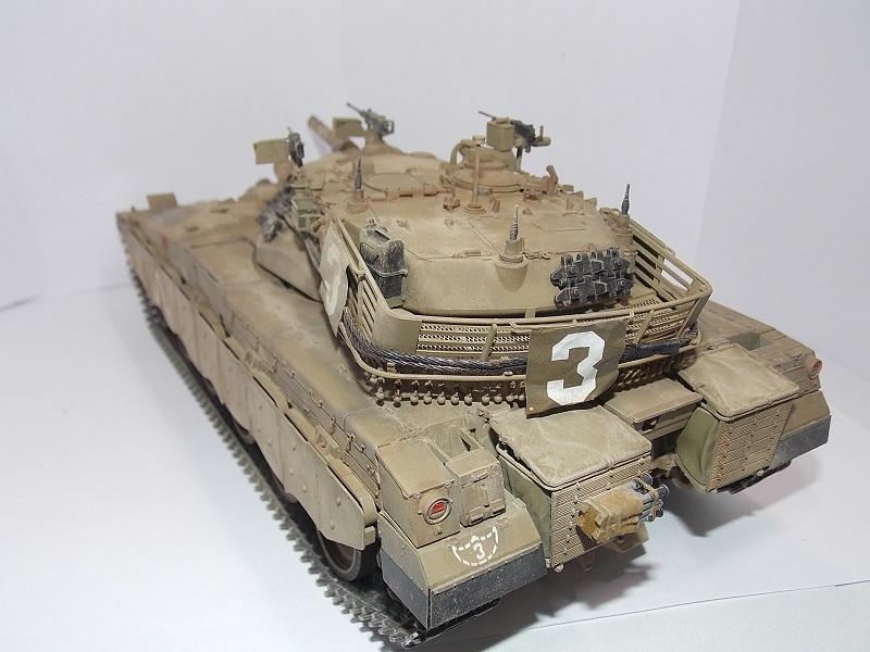 Merkava Mk.1 Hybrid. ТАКОМ, 1\35. Dscn5103