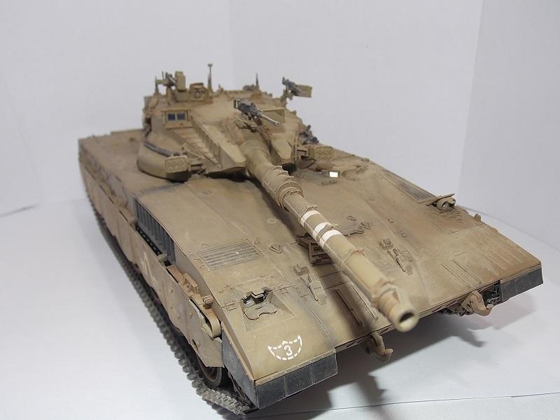 Merkava Mk.1 Hybrid. ТАКОМ, 1\35. Dscn5104