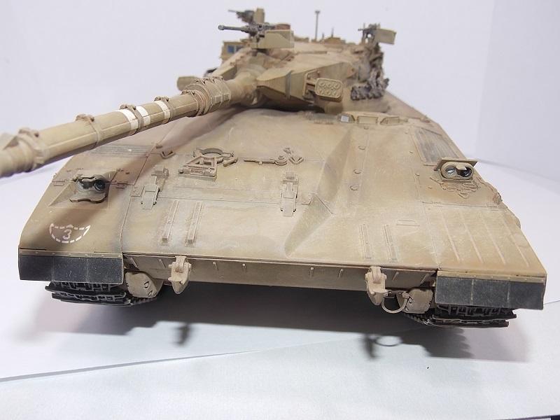 Merkava Mk.1 Hybrid. ТАКОМ, 1\35. Dscn5105