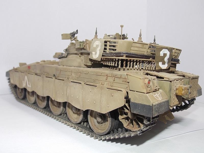 Merkava Mk.1 Hybrid. ТАКОМ, 1\35. Dscn5106