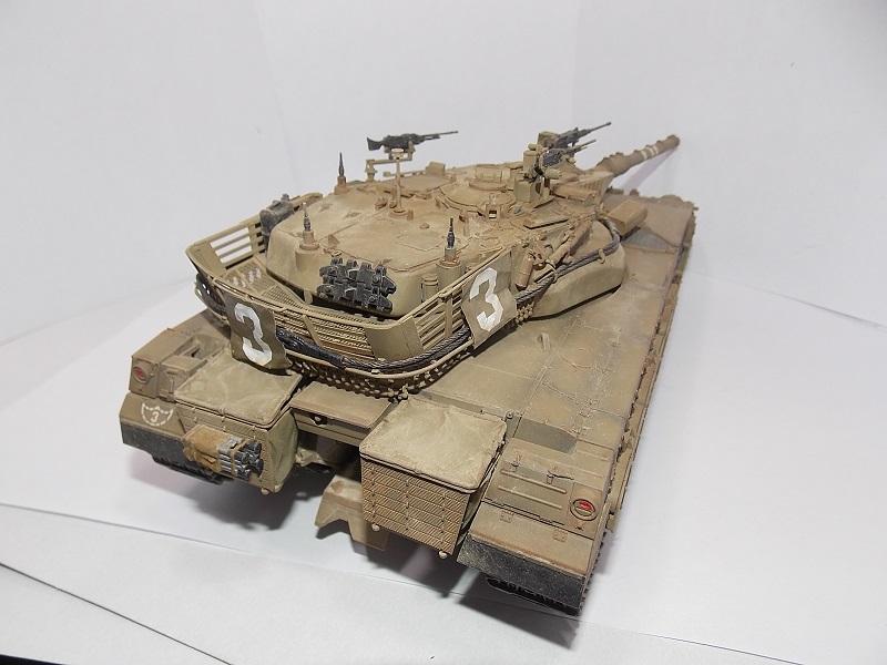 Merkava Mk.1 Hybrid. ТАКОМ, 1\35. Dscn5109