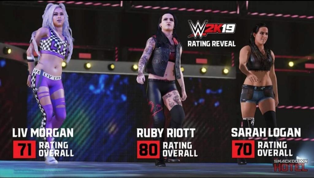 WWE 2K19 : Découvrez les premiers Overalls. 20180910