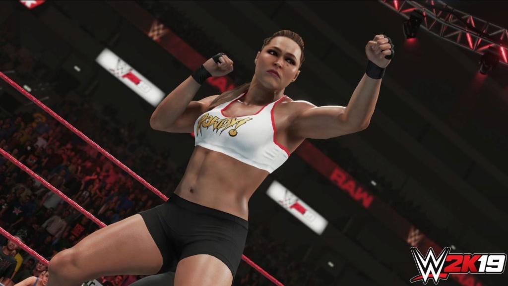 WWE 2K19 : 2K DÉVOILE UN SCREEN DE RONDA ROUSEY 39270910
