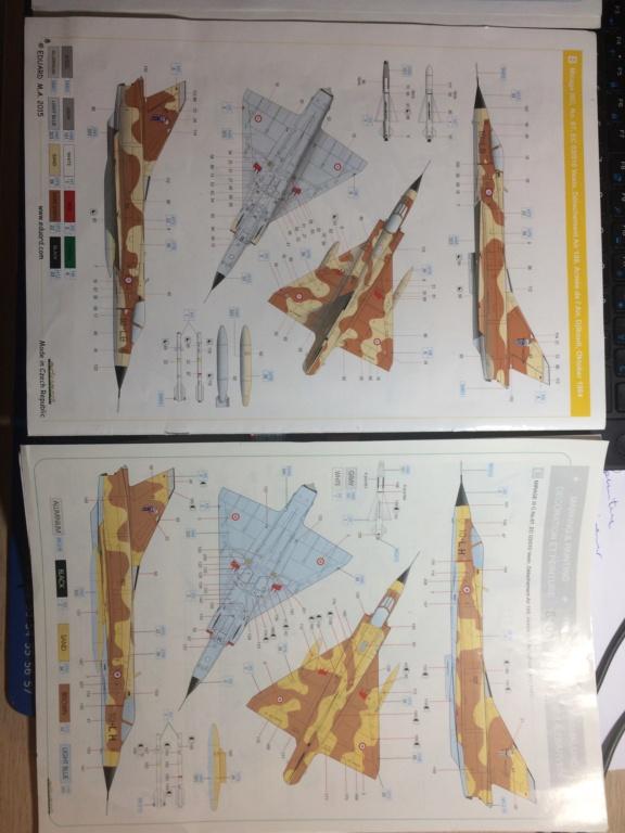 """Mirage IIIC """"Djibouti"""" Eduard 1/48 Img_2131"""