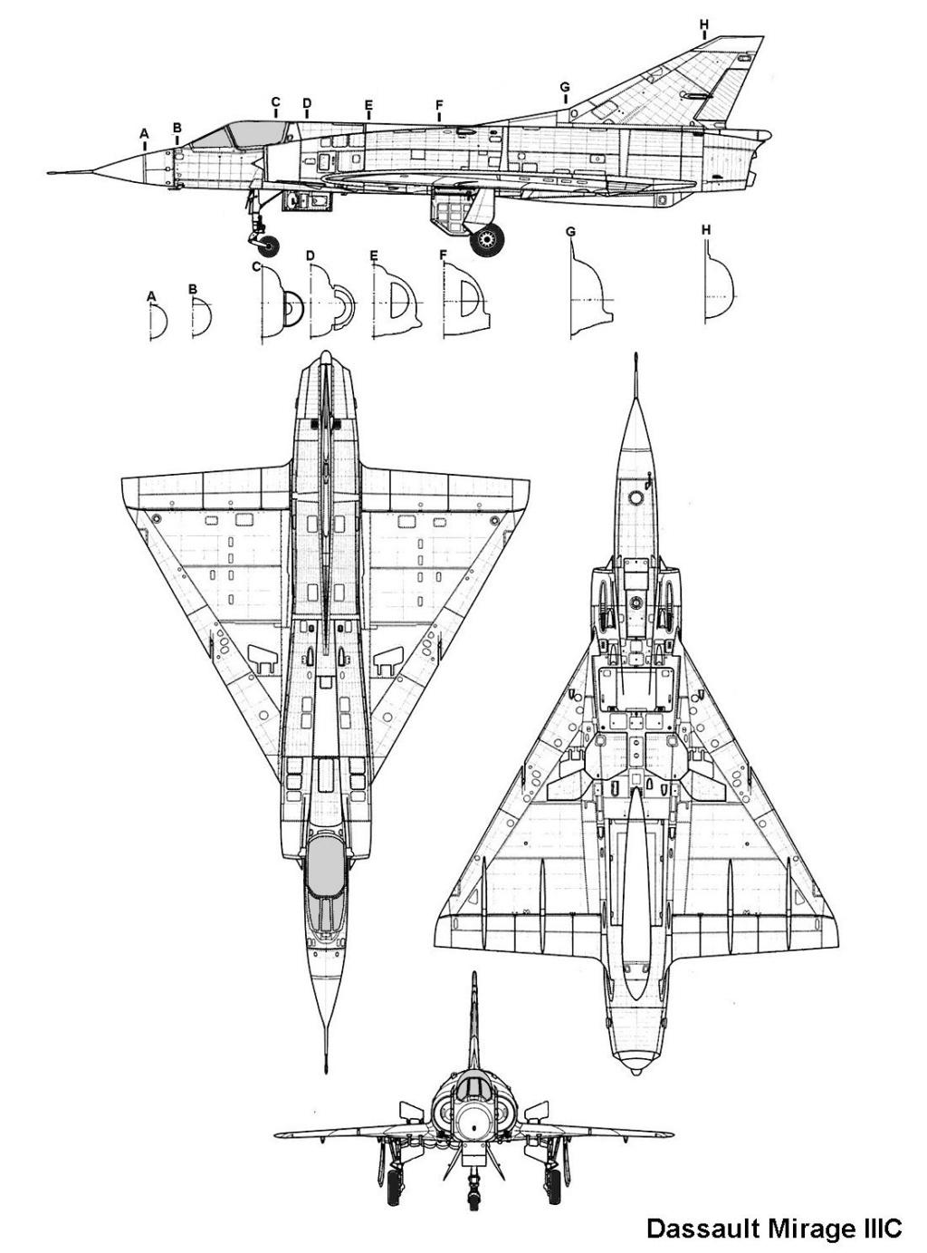 """Mirage IIIC """"Djibouti"""" Eduard 1/48 Mirage10"""