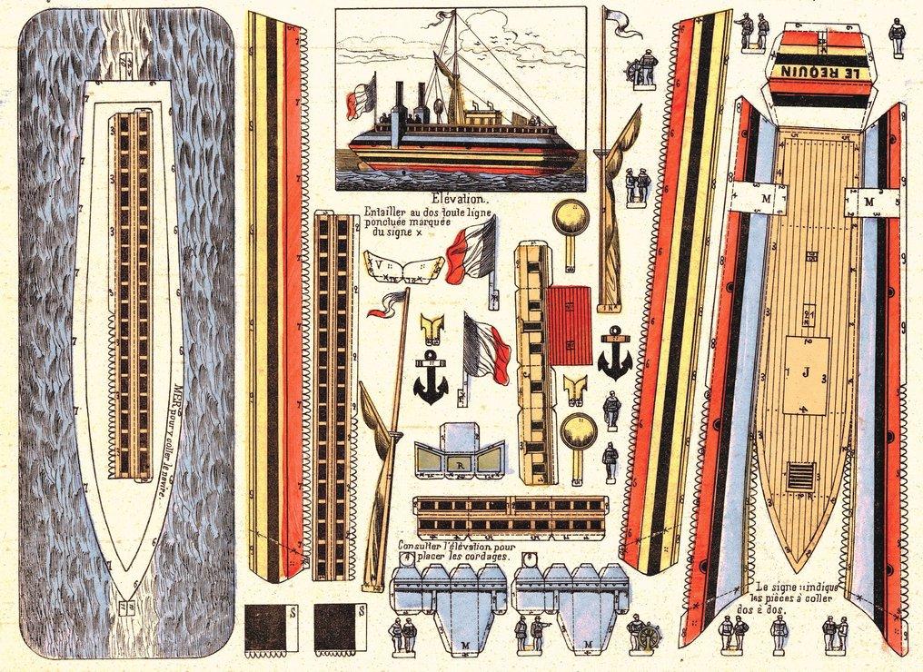 """Le cuirassé """"le Formidable"""" (1885) - Page 7 7110"""