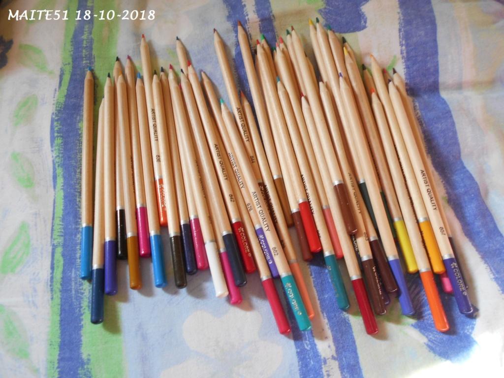 """Crayons """"Coloré"""" ! 50_cdc17"""