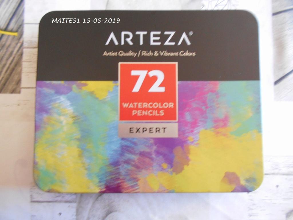 Crayons de couleur Arteza 72_cdc19