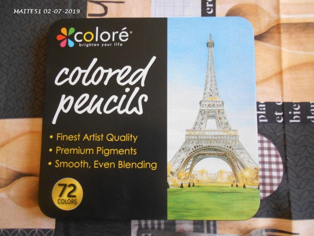 """Crayons """"Coloré"""" ! 72_cdc26"""