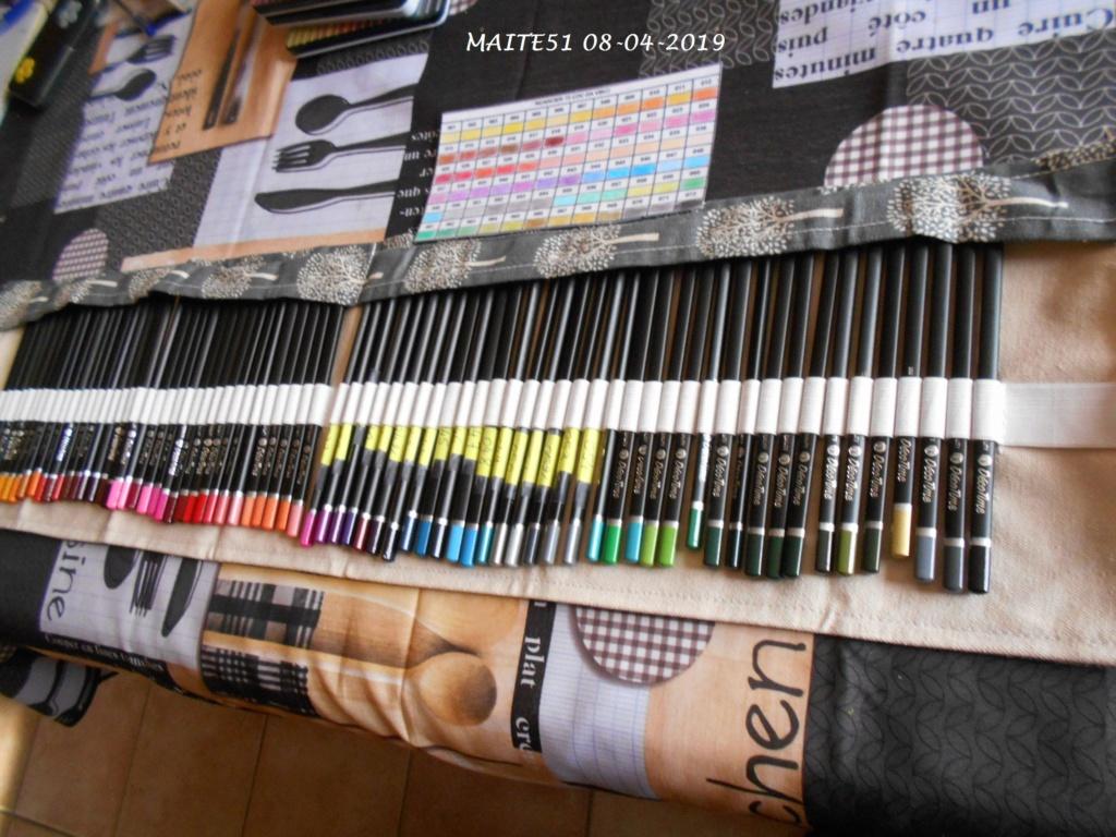 Crayons Da vinci de chez Action Trouss46