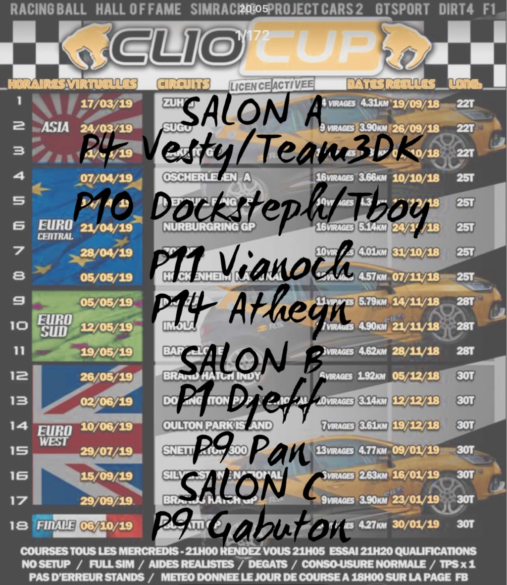 CLIO CUP 2018 by Racing Ball 364c8a10