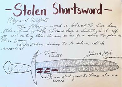 Stolen Shortsword 11679610