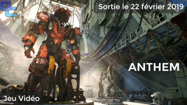 [News] Bienvenue au nouveau forum Game Communauty ! Anthem10