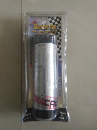 Monster Digicap 1.0 Farad High Performance Stiffening CAP (New) Img20114