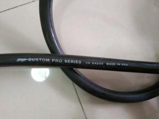 20 foot Stinger Black Custom Pro Series 0 Gauge 1/0 Copper Power Wire Img_2012