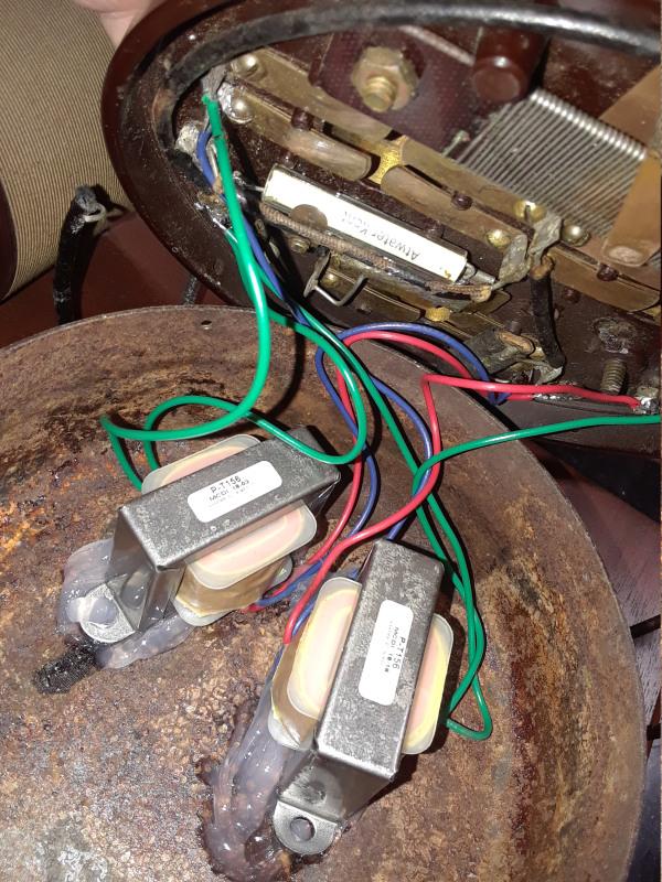 Filament voltage problem - AK 9C 9c-110