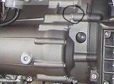 oil leak from gearbox nut 84ee6f10