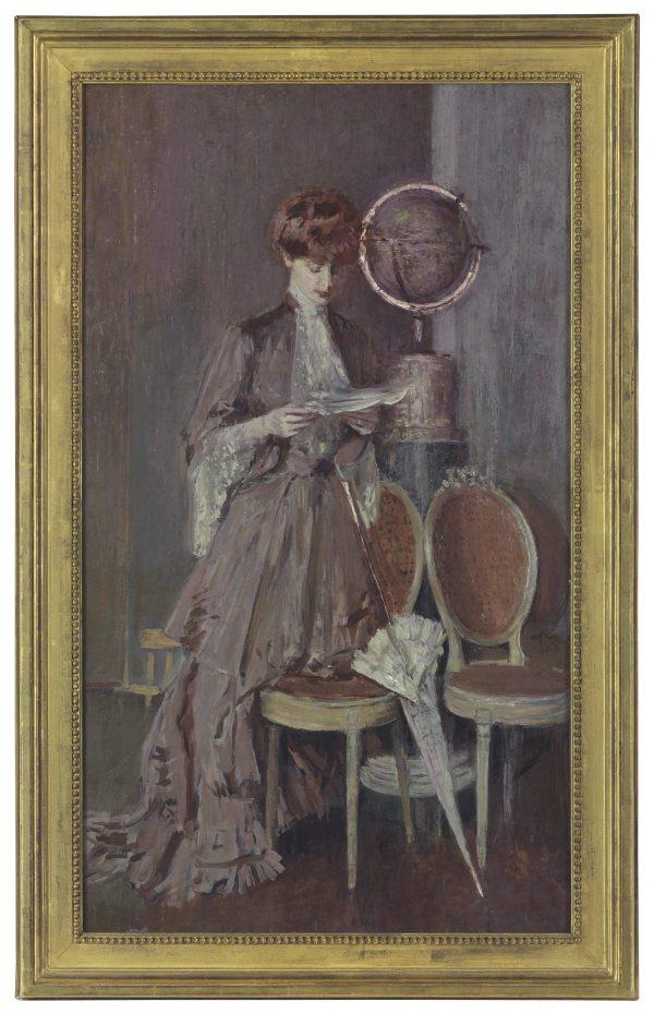 La femme dans l'art, portraits choisis chez Christie's Lot-5510
