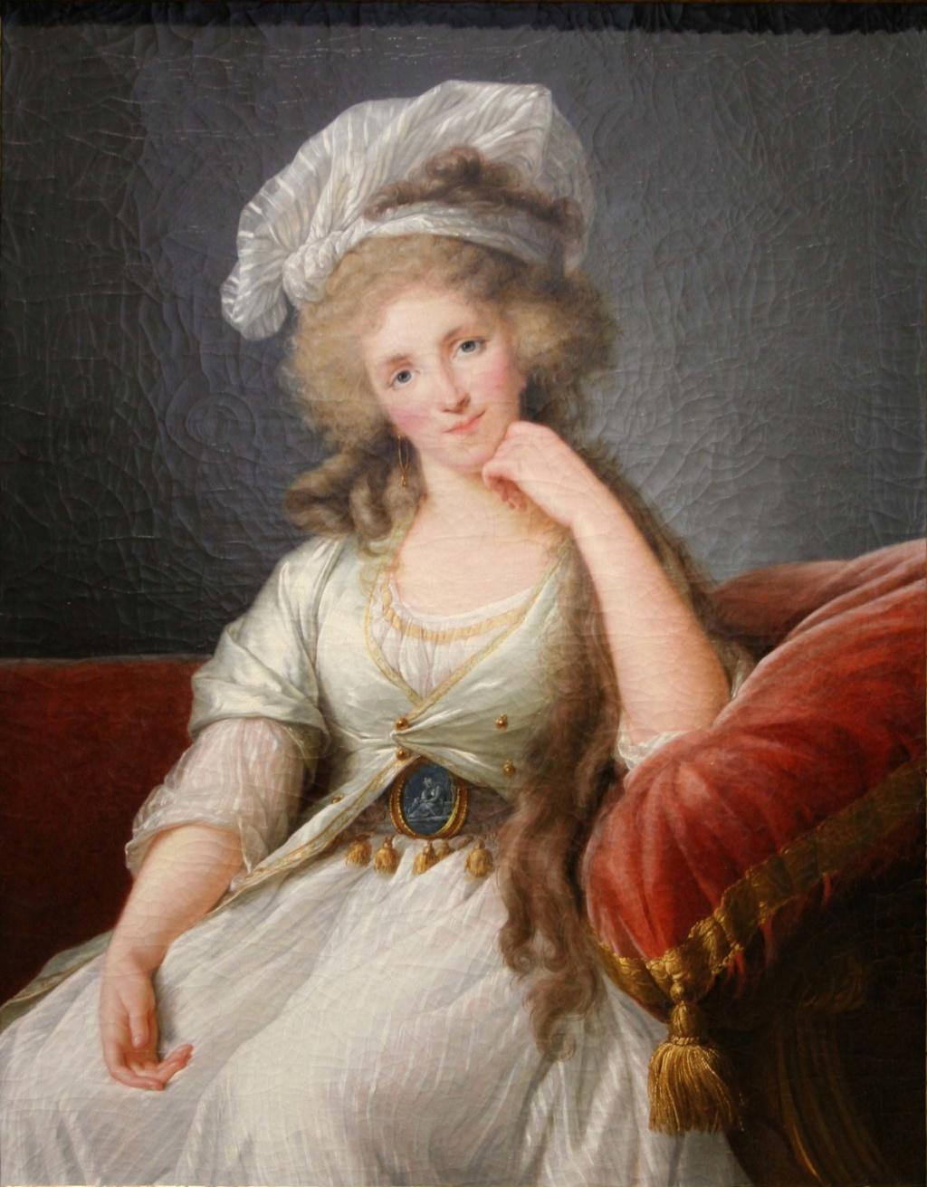 Portrait de la Duchesse d'Orléans par Elizabeth Vigée-Le Brun Vigc3a10