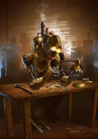 Robotique et automates. 5532b710