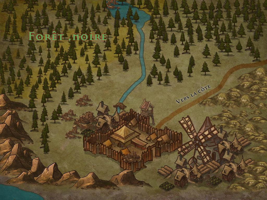Le village. Map_210
