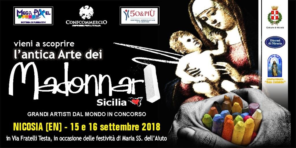 """Nicosia, al via il 15 settembre il concorso """"Madonnari di Sicilia"""" 0e0e0c10"""