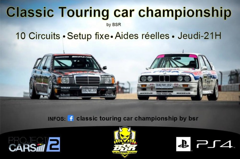 Classic Touring Cars Championship by BSR 45006010