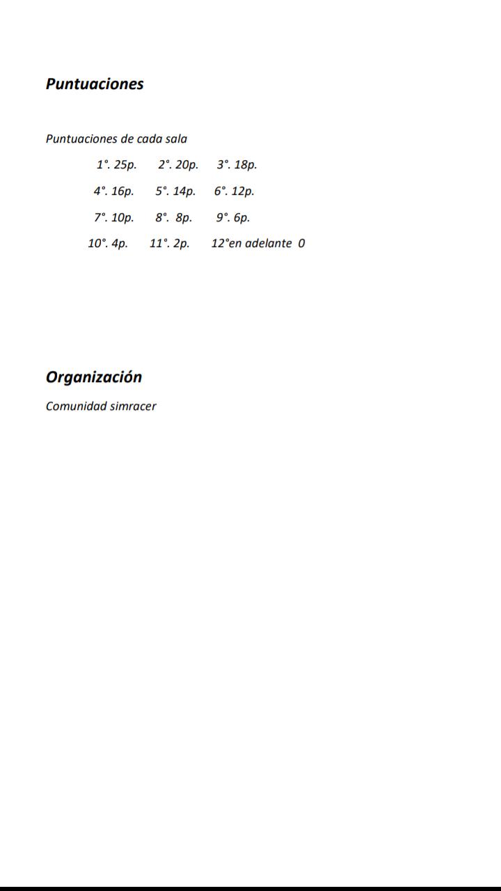 Normativa y puntuación Screen19