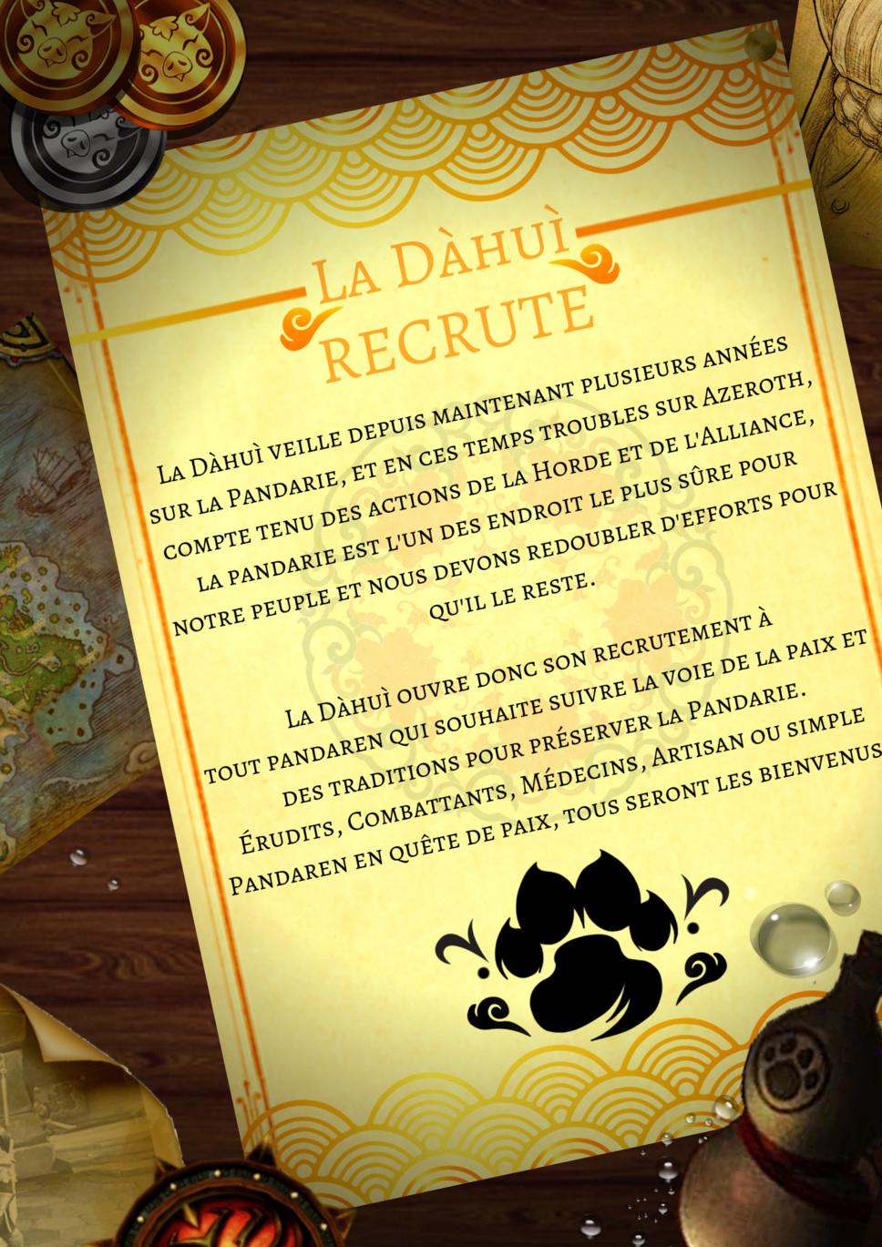 Affiche de la Dàhuì On_rec11
