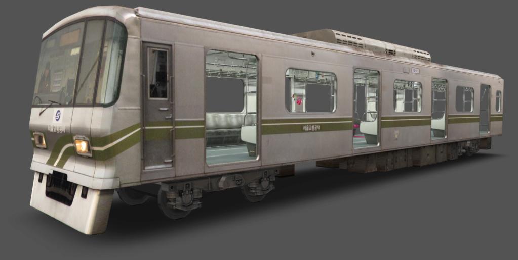 Seoul Metro Commuter train series   1110