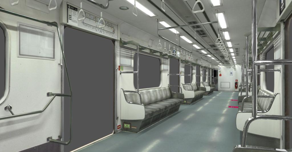 Seoul Metro Commuter train series   2210