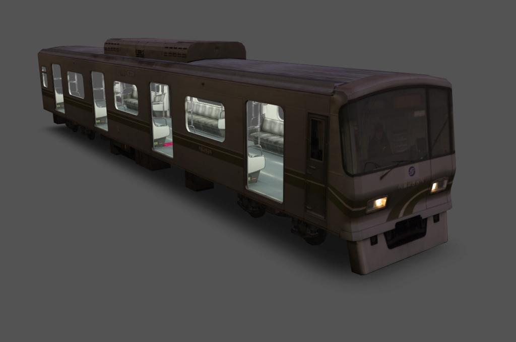 Seoul Metro Commuter train series   3310