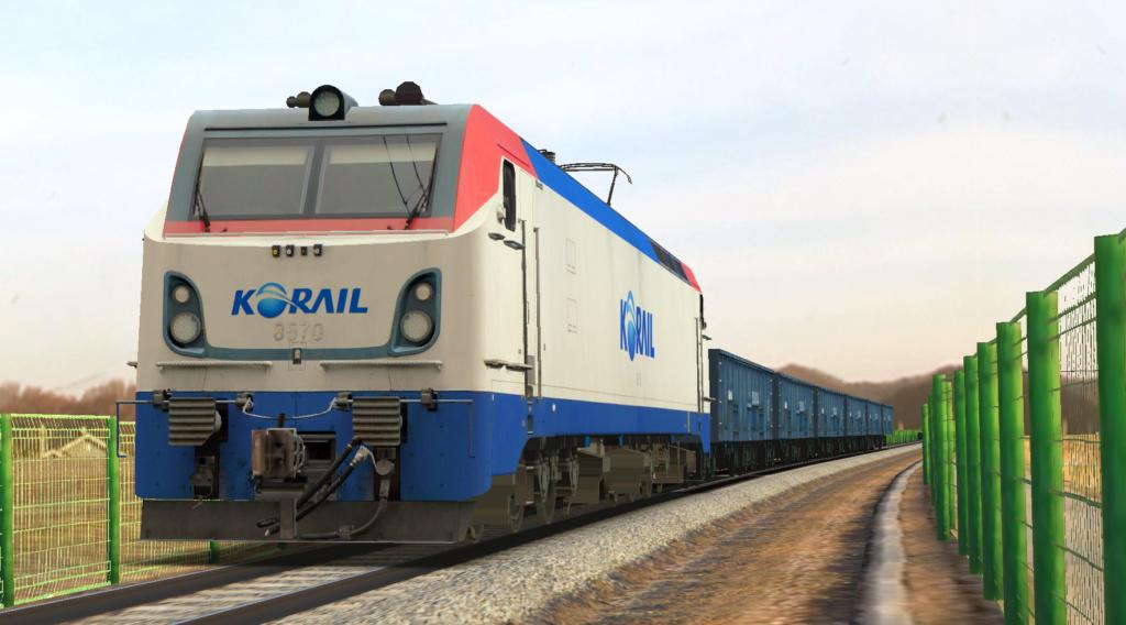 KOREA Electric locomotive 8500 Series 8500110