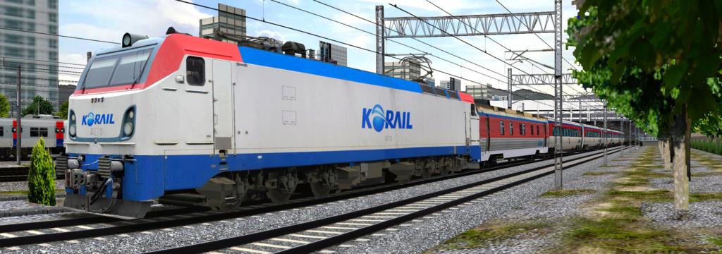 KOREA Electric locomotive 8500 Series 8500410