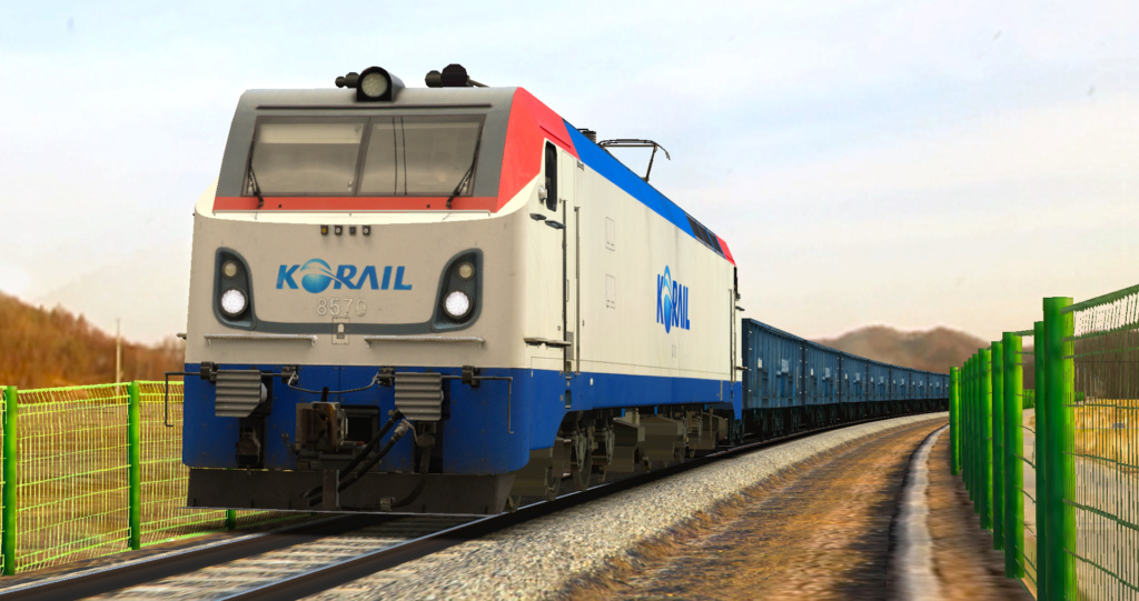KOREA Electric locomotive 8500 Series [Download] 8570110