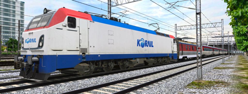 KOREA Electric locomotive 8500 Series [Download] 8570210