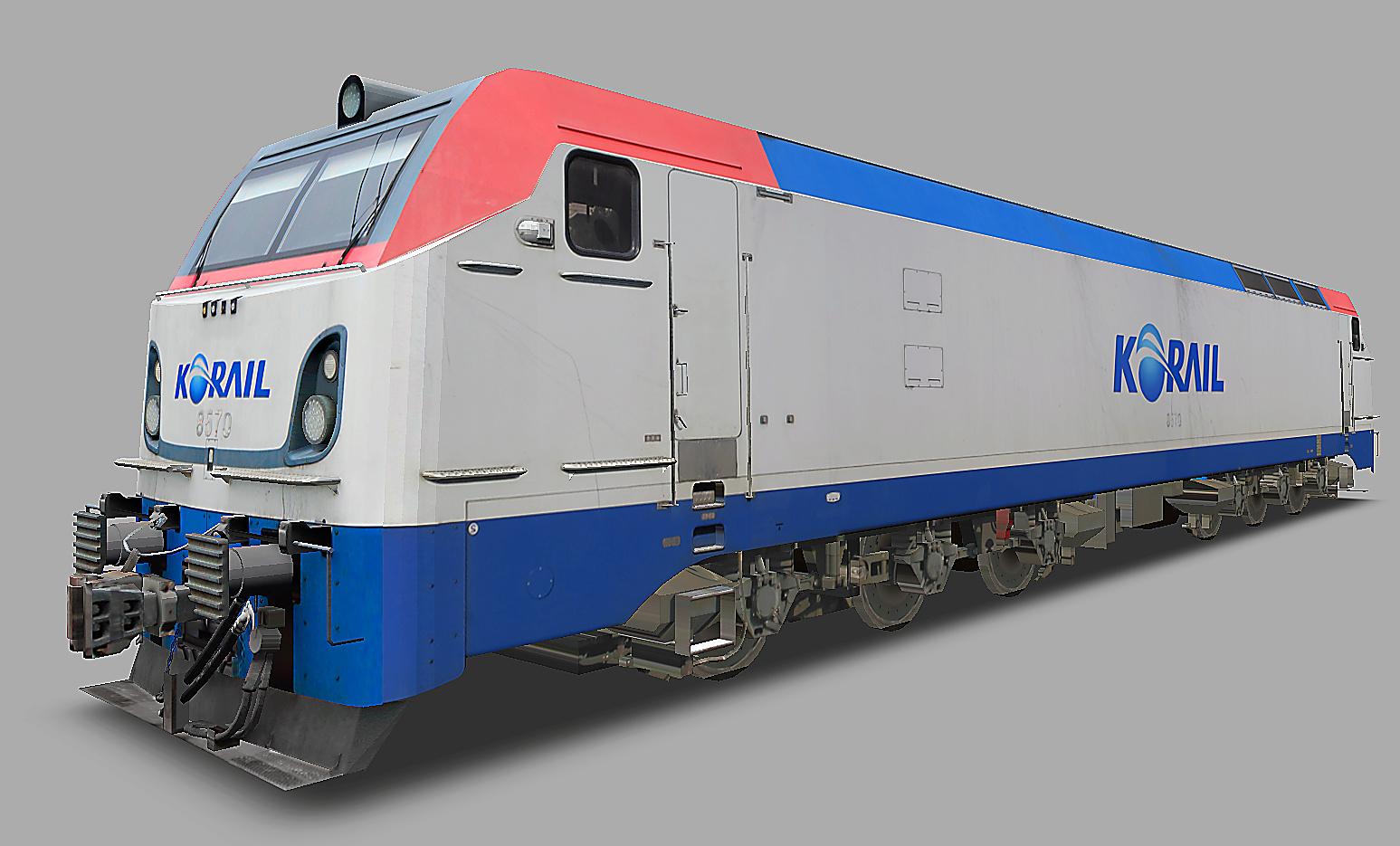 KOREA Electric locomotive 8500 Series N110