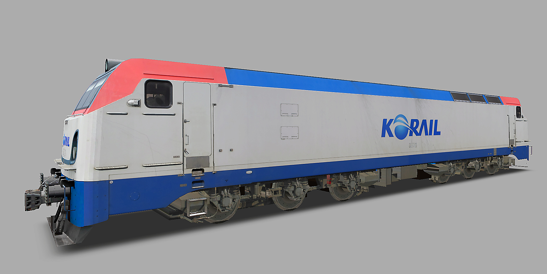 KOREA Electric locomotive 8500 Series N210
