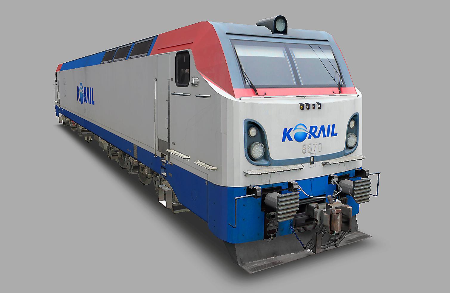 KOREA Electric locomotive 8500 Series N310