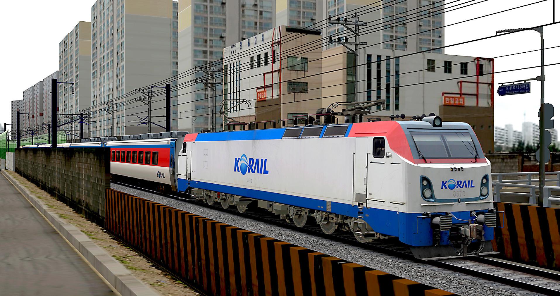 KOREA Electric locomotive 8500 Series Tm210
