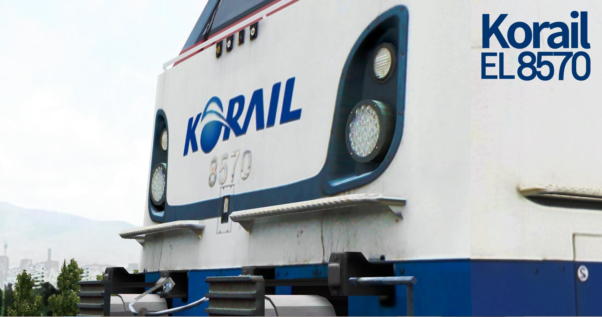 KOREA Electric locomotive 8500 Series Tm610
