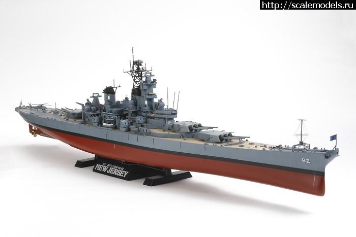 линкор USS New Jersey 1/350 110