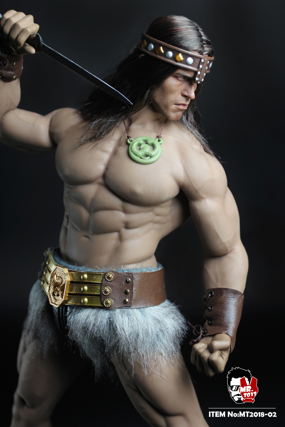 NEW PRODUCT:  Mr. Toys MT2018-02 1/6 Conan head carving costume set O1cn0111