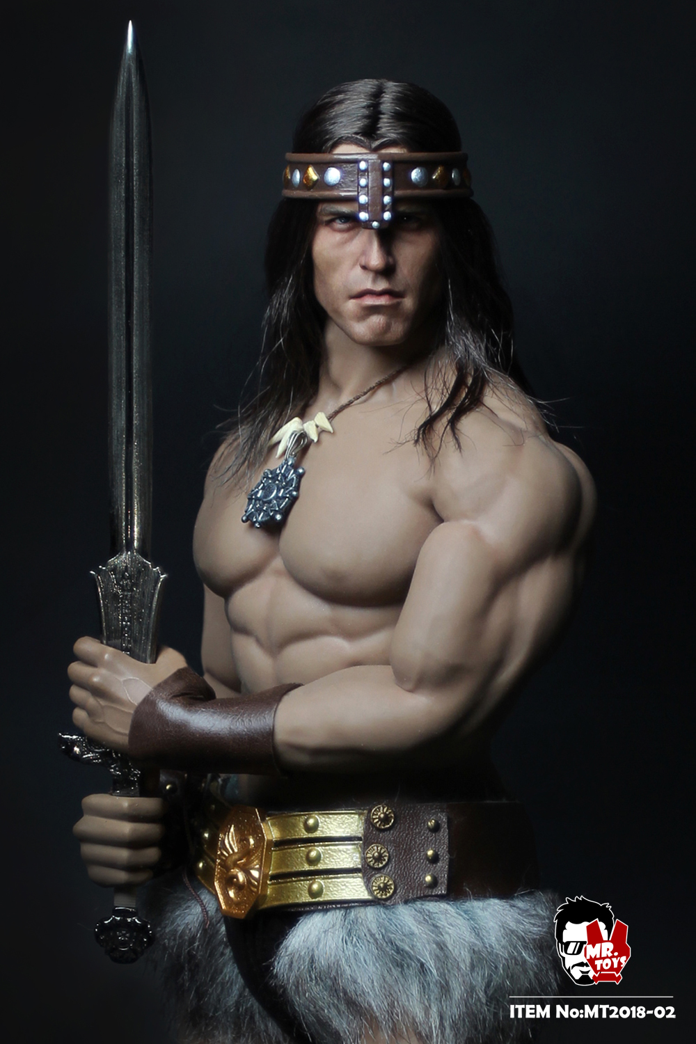 NEW PRODUCT:  Mr. Toys MT2018-02 1/6 Conan head carving costume set O1cn0112