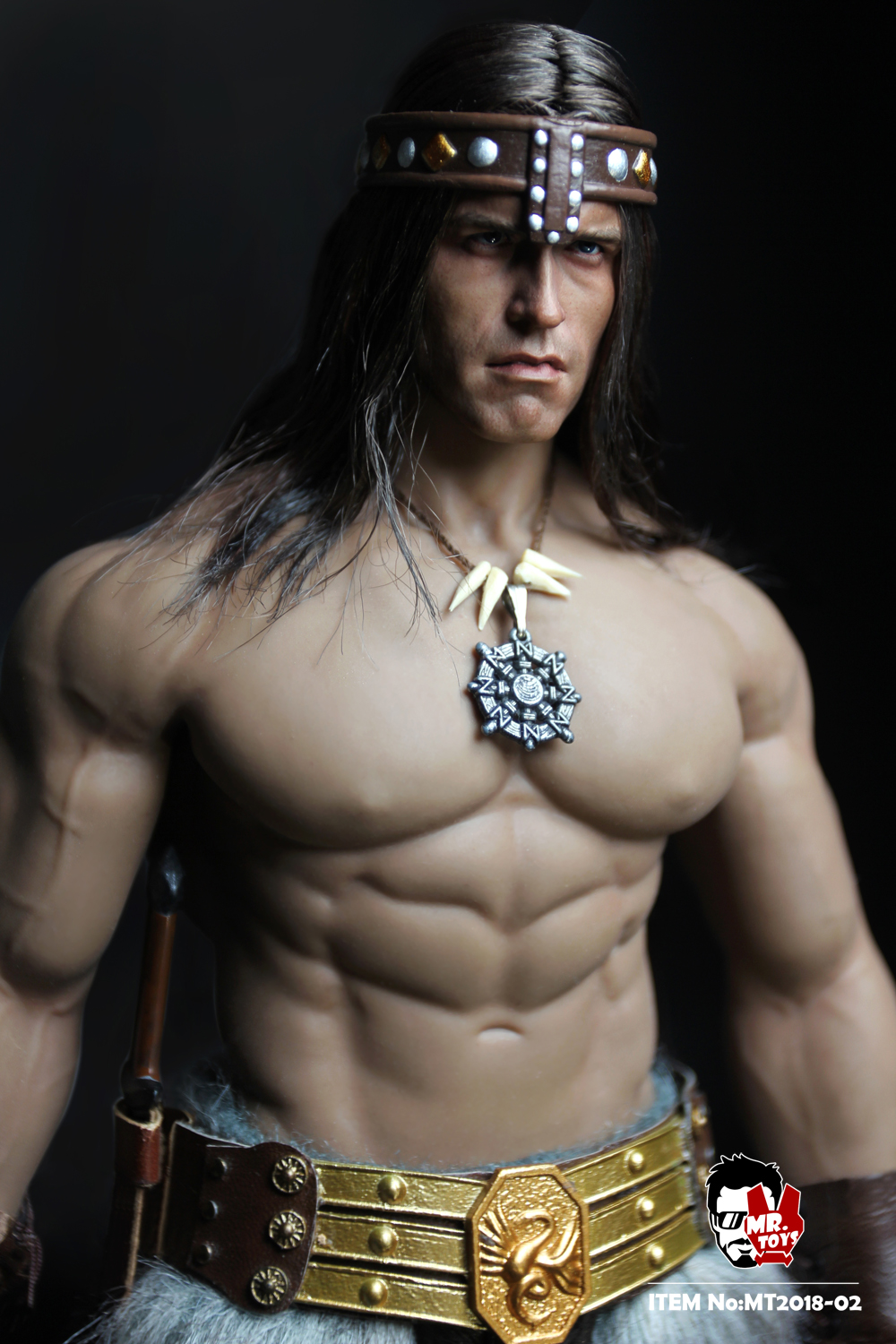 NEW PRODUCT:  Mr. Toys MT2018-02 1/6 Conan head carving costume set O1cn0114