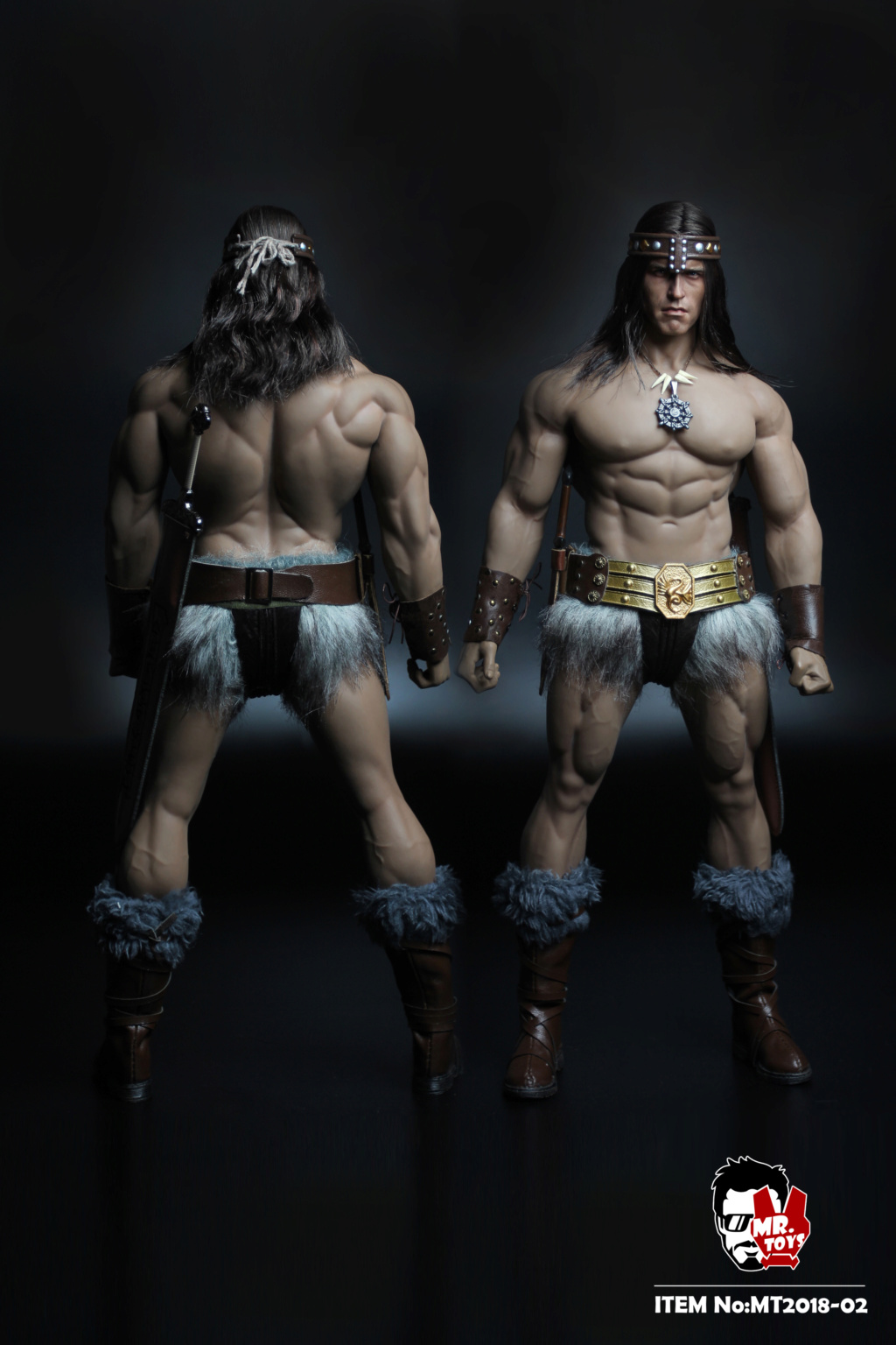 NEW PRODUCT:  Mr. Toys MT2018-02 1/6 Conan head carving costume set O1cn0115
